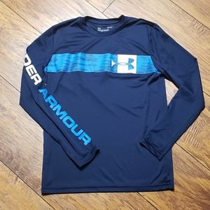Boy's L/S UNDER ARMOUR shirt Size Youth Large